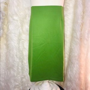 Dresses & Skirts - 🌟$5 Large Green Pencil Skirt By Johnny New